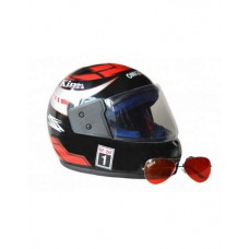 Deals, Discounts & Offers on Car & Bike Accessories - Combo Of Helmet And Red Sunglasses