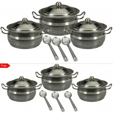 Deals, Discounts & Offers on Home & Kitchen - Stainless Steel Serve & Cook Combo