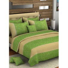 Deals, Discounts & Offers on Home Decor & Festive Needs - Bombay Dyeing Florentine Double Bed Sheet With 2 Pillow Covers