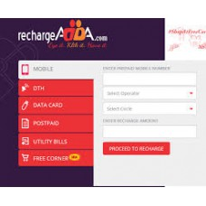 RechargeADDA Offers and Deals Online - Get 5% Cashback on Mobile/DTH/Data Card Recharge of Rs.10 & above.