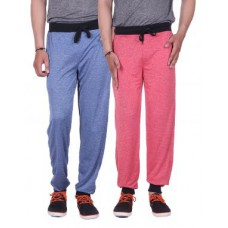 "Deals, Discounts & Offers on Men Clothing - Gag Wear Men""s Melange Cotton Blend Track Pant"