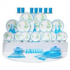 Deals, Discounts & Offers on Home & Kitchen - Joyo 84 Pcs Designer Microwave Dinner Set