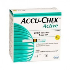 Deals, Discounts & Offers on Personal Care Appliances - Flat 34% off on Accu-Chek Active 100 Strips