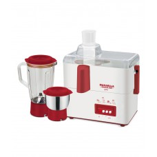 Deals, Discounts & Offers on Home Improvement - Maharaja Whiteline Gala Juicer Mixer Grinder White and Maroon