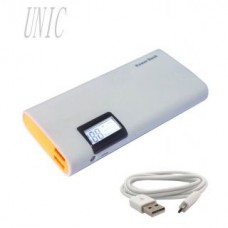 Deals, Discounts & Offers on Power Banks - UNIC Portable Charger 15000 mAh Dual USB Power Bank with LCD Display