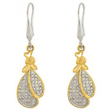 Deals, Discounts & Offers on Earings and Necklace - Designer Gold Plated Beautiful Earrings - ER1477