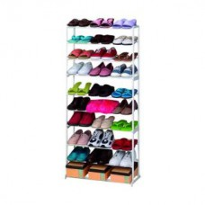 Deals, Discounts & Offers on Home & Kitchen - Amazing Shoe Rack 30 Pairs Amazing Shoe Storage 10 Tier Shoe Rack Organizer