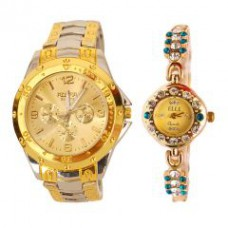Deals, Discounts & Offers on Men - Buy 1 Get 1 Free Stylish Wrist Watch