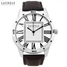 Deals, Discounts & Offers on Men - Laurels Maestro 1 Analog Silver Matt Dial Mens Watch