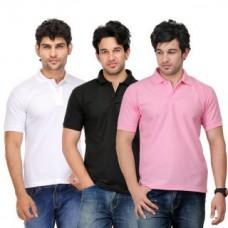 Deals, Discounts & Offers on Men Clothing - TSX Exquisite Cotton Blend  Polo T-Shirt