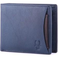 Deals, Discounts & Offers on Accessories - WildHorn Men, Women Casual, Formal Blue Genuine Leather Wallet