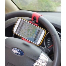 Deals, Discounts & Offers on Car & Bike Accessories - Steering Mount - Car Mobile Holder