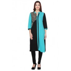 Deals, Discounts & Offers on Women Clothing - Varanga Embroidered Women's Straight Kurta