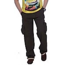 Deals, Discounts & Offers on Men Clothing - True Fashion Dark Green Men Cargo Pants