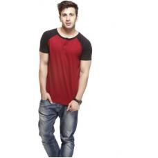 Deals, Discounts & Offers on Men Clothing - Gritstones Solid Men's Henley T-Shirt