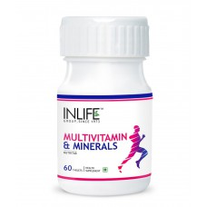 Deals, Discounts & Offers on Health & Personal Care - INLIFE Multivitamin and MultiMinerals, 60 Tablets With Biotin For Men and Women