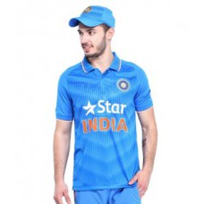 Deals, Discounts & Offers on Men Clothing - Victory Team India T20 Cricket Jersey T Shirt