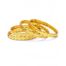 Deals, Discounts & Offers on Women - Flat 93% off on Sukkhi Golden Bangle Set of 4