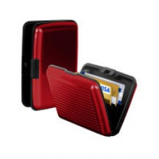 Deals, Discounts & Offers on Stationery - CB Red The Original - Aluminium Credit Card Wallet Case