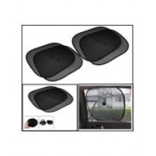 Deals, Discounts & Offers on Car & Bike Accessories - Car Window Sunshades - Set of 4