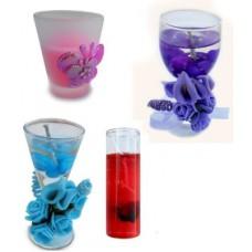 Deals, Discounts & Offers on Home Decor & Festive Needs - Smartkshop Decorative Scented Votive Glass , Festival Delite Set Of 4 Candle