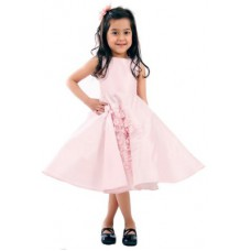 Deals, Discounts & Offers on Kid's Clothing - GAURI & NAINIKA FOR KIDOLOGY Girl's Fit and Flare Pink Dress