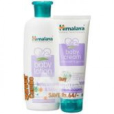 Deals, Discounts & Offers on Baby Care - Himalaya Super Saver Combo - Baby Lotion 200ml and Cream 100ml