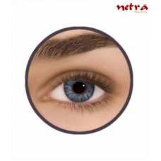 Deals, Discounts & Offers on Health & Personal Care - Netra Altitudinal Grey Contact Lenses Monthly Contact Lens