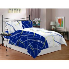 Deals, Discounts & Offers on Home Appliances - Bombay Dyeing Ambrosia 130 TC Cotton Double Bedsheet with 2 Pillow Covers