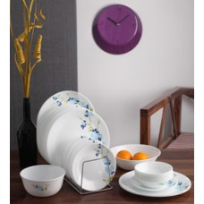 Deals, Discounts & Offers on Home Appliances - Flat 11% off on Corelle India Collection Blue Blossom 21 Pcs Dinner Set