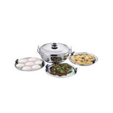 Deals, Discounts & Offers on Home Appliances - Kitchen Essentials Idli Steamer