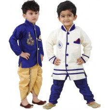 Deals, Discounts & Offers on Kid's Clothing - FTCBazar Boy's Kurta and Dhoti Pant Set