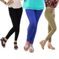 Deals, Discounts & Offers on Women Clothing - Miss 16 Leggie Jeggie pack of 3 Jeggings