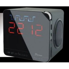 Deals, Discounts & Offers on Mobile Accessories - Ducasso Black Boy Bluetooth Speaker With USB SD FM Alarm Clock Rechargeable