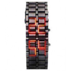 Deals, Discounts & Offers on Baby & Kids - kissu designer smart black steel led watch