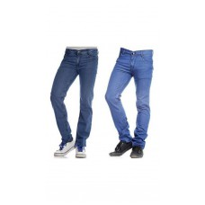 Deals, Discounts & Offers on Men Clothing - Pack of 2 Stylish Assorted Denims For Men