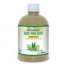 Deals, Discounts & Offers on Health & Personal Care - HealthViva Aloe Vera Juice 500 ML