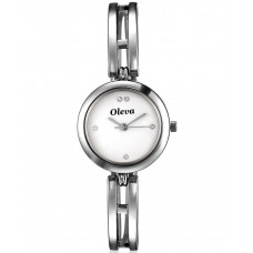 Deals, Discounts & Offers on Women - Flat 73% off on Oleva Silver Analog Watch For Women