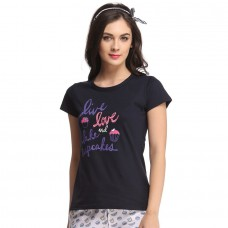 Deals, Discounts & Offers on Women Clothing - TRENDY GRAPHIC T-SHIRT IN COTTON