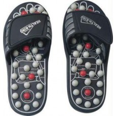 Deals, Discounts & Offers on Health & Personal Care - Original Spring Action Acupressure Massage Slippers Leg Foot Massager