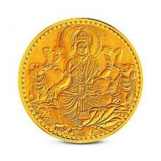 Deals, Discounts & Offers on Home & Kitchen - Zaamor Diamonds Lakshmi Gold Coin