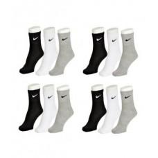 Deals, Discounts & Offers on Men - Nike Mens Cotton Multicolor Socks