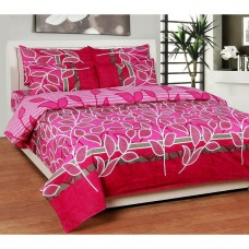 Deals, Discounts & Offers on Home Appliances - Best Deal Double Bed Sheet With Pillow Cover Poly Cotton