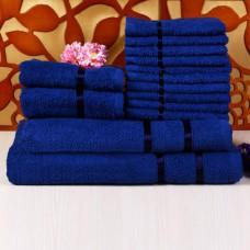 Deals, Discounts & Offers on Home Decor & Festive Needs - Story @ Home 100% Cotton Men & Women Bath, Hand & Face Towel Set of 14 Pcs