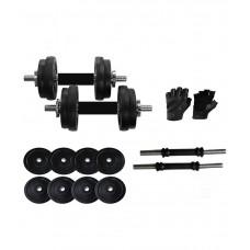 Deals, Discounts & Offers on Sports - Total Gym Home Gym Adjustable Dumbells - 10 Kg