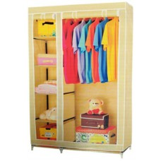Deals, Discounts & Offers on Furniture - Everything Imported Carbon Steel Collapsible Wardrobe