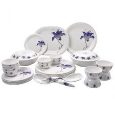 Deals, Discounts & Offers on Home & Kitchen - Mehul Sonata Dinner Set 31 Pieces