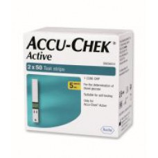 Deals, Discounts & Offers on Personal Care Appliances - Accu-Chek Active 100 Test Strips