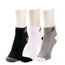 Deals, Discounts & Offers on Men - Adidas Men's Half Cushion- Low Cut Socks - 3 pair pack