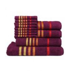 Deals, Discounts & Offers on Home & Kitchen - Casa Copenhagen Set of 12 Cotton Towels